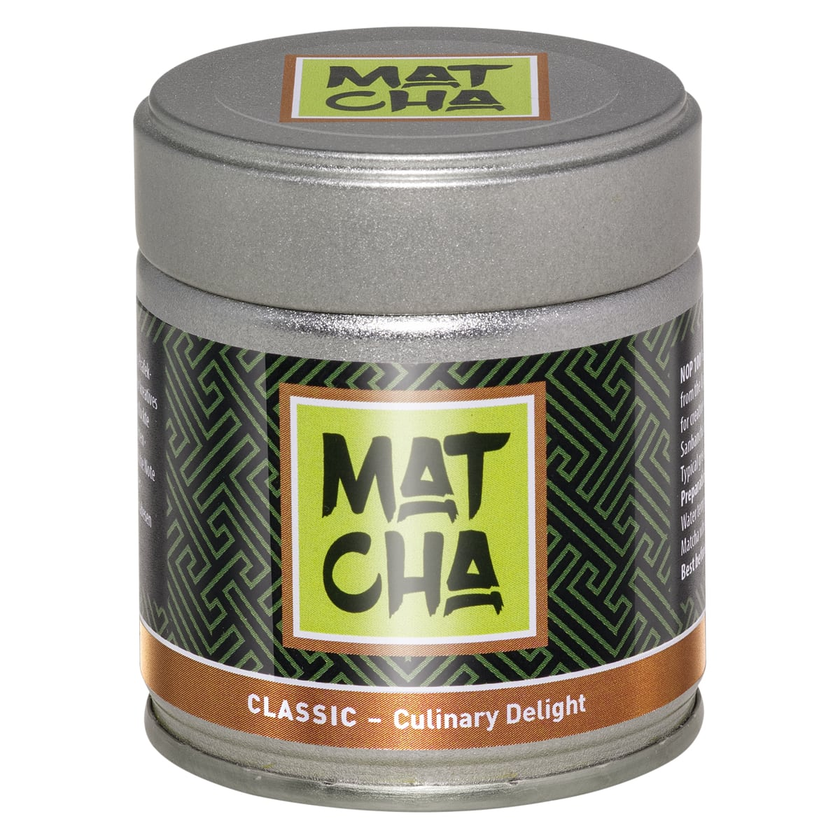 classic matcha culinary delight biotee 40 g dose top tee shop. Black Bedroom Furniture Sets. Home Design Ideas